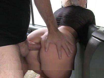 Fake Taxi Blonde Milf Gets Surprise Anal Sex