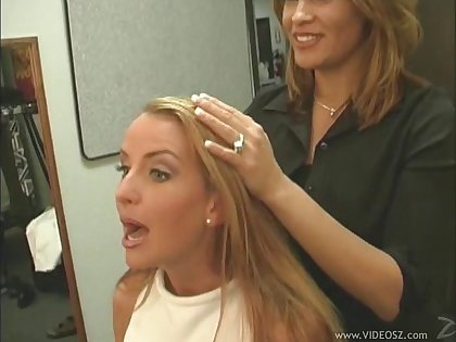 Fabulous milfs ordinance off their big tits in a dissipated behind the scenes compilation