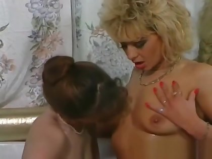 Piss; A handful of roasting milfs are enjoying in wet