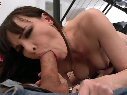 Forsaken and without equal horny in the unabridged neighborhood nympho Dana DeArmond gives BJ