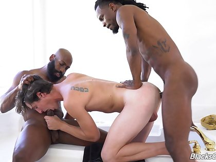Hot gay threeway bonking with Fame, JJ Lake and Tony Orlando