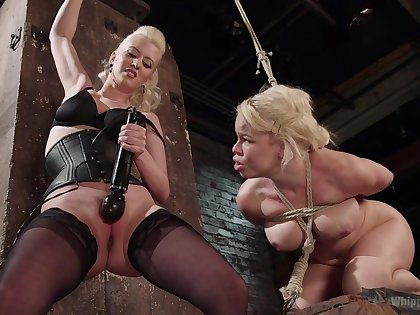 Elegant matures ration a session of femdom porn
