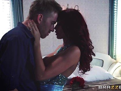 Video of cute redhead Monique Alexander having passionate sex