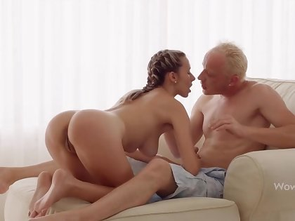 WOWGIRLS, Super Wet Joanna Lets the Guy Have a passion Will not hear of As He Wants